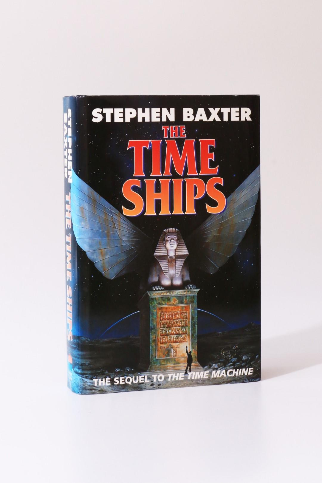Stephen Baxter - The Time Ships - Harper Collins, 1995, Signed First Edition.