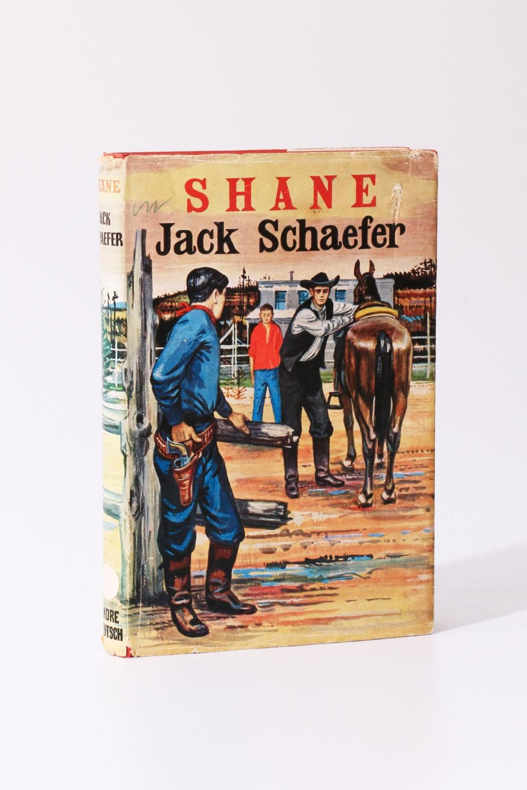 Jack Schaefer - Shane - Andre Deutsch, 1954, First Edition.