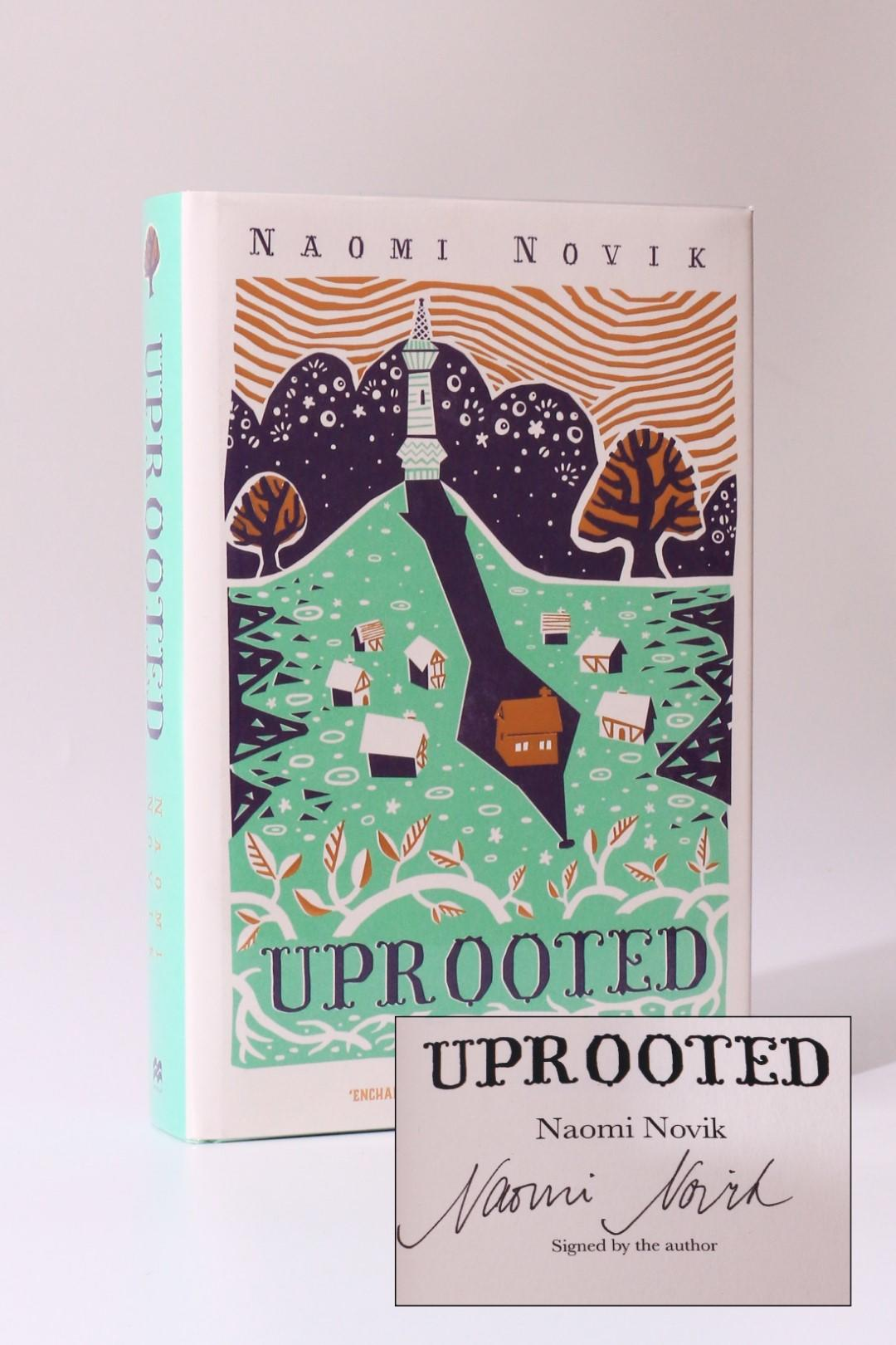 Naomi Novik - Uprooted - Macmillan, 2015, Signed First Edition.