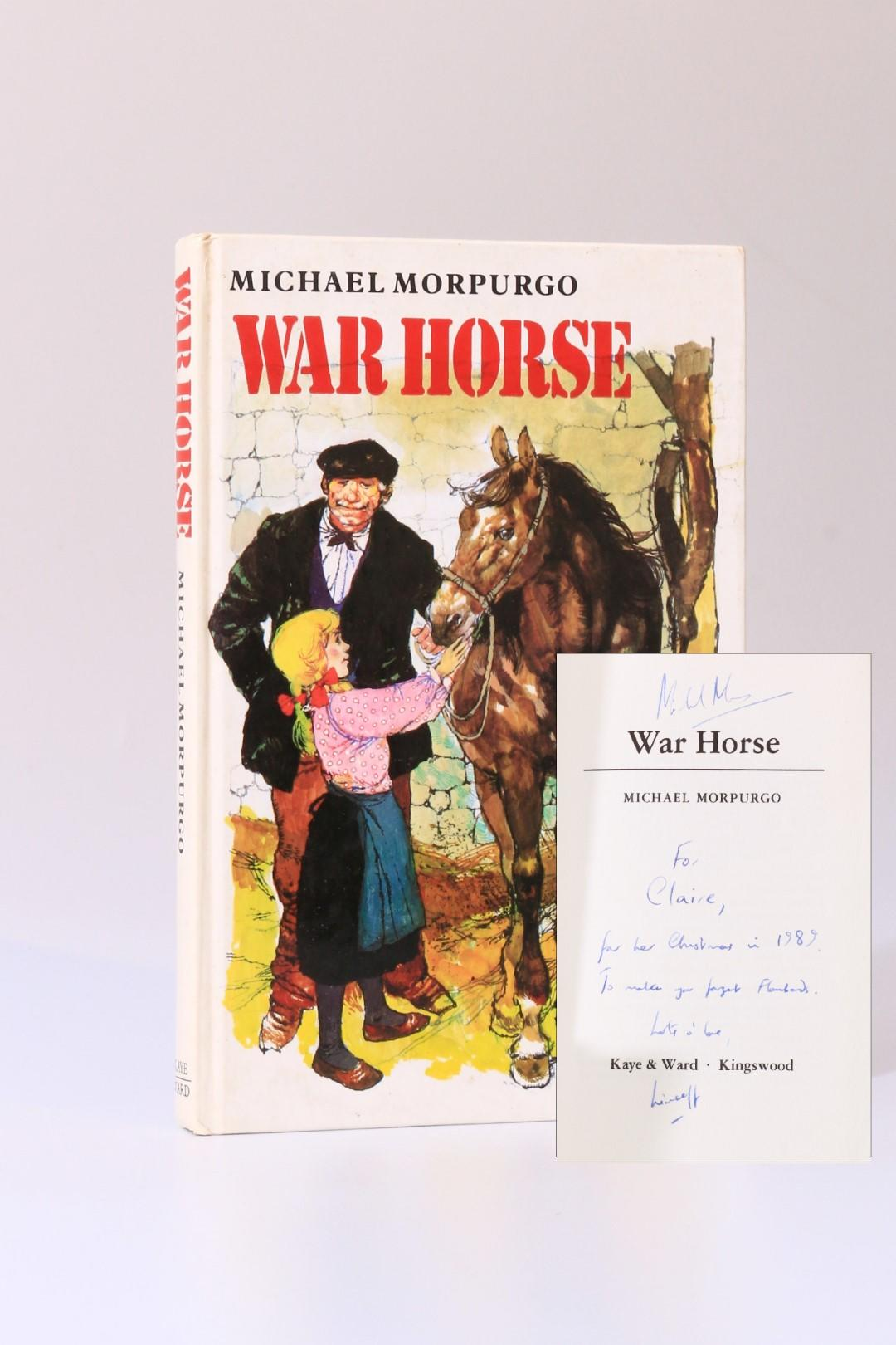 Michael Morpurgo - War Horse - Kaye Ward, 1982, Signed First Edition.