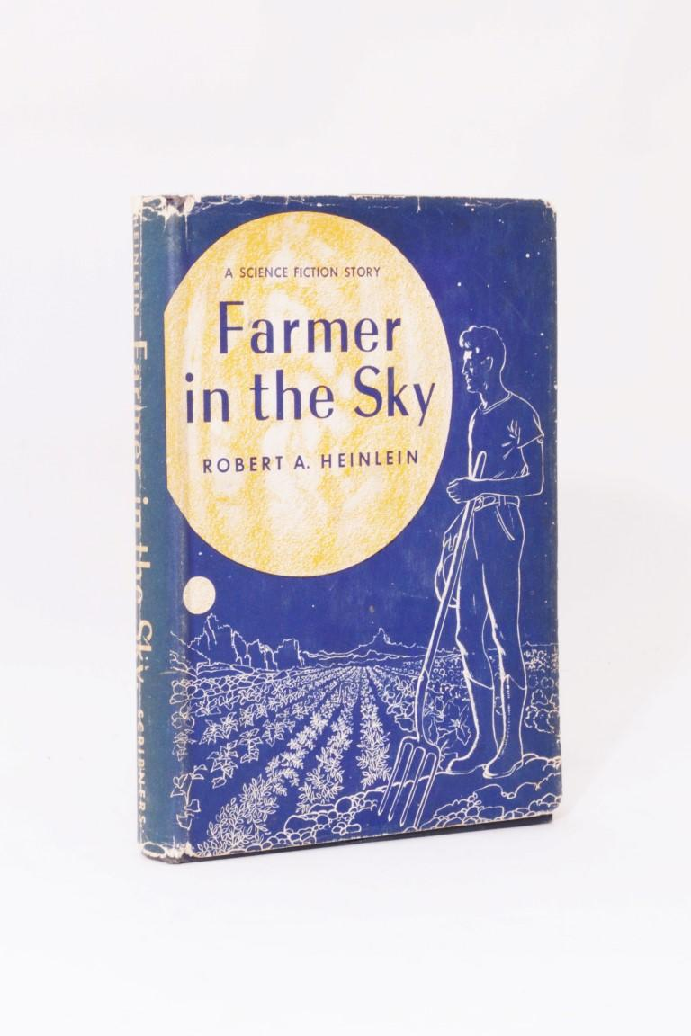 Robert A. Heinlein - Farmer in the Sky - Scribners, 1950, First Edition.