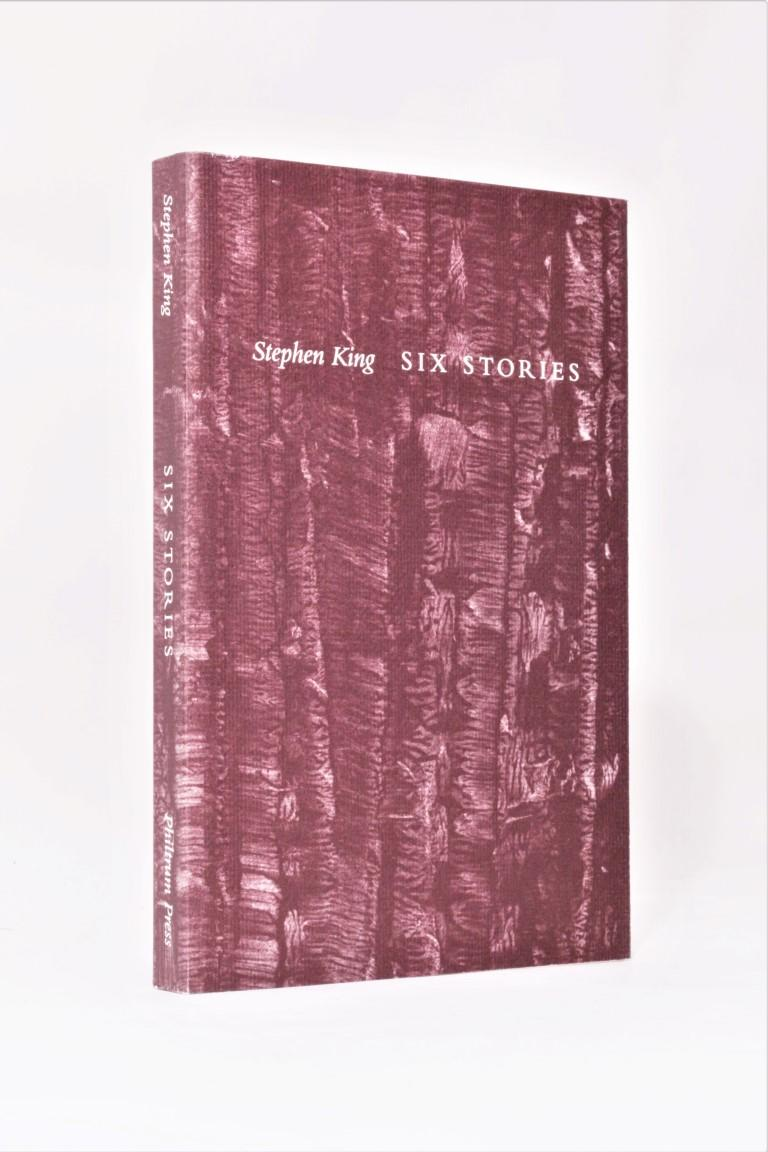 Stephen King - Six Stories - Philtrum Press, 1997, Signed Limited Edition.