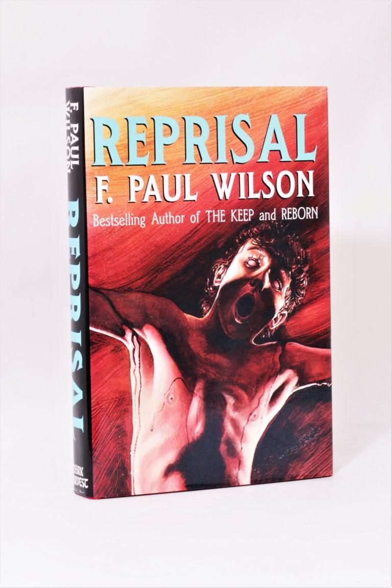 F. Paul Wilson - Reprisal - Dark Harvest, 1991, Signed First Edition.