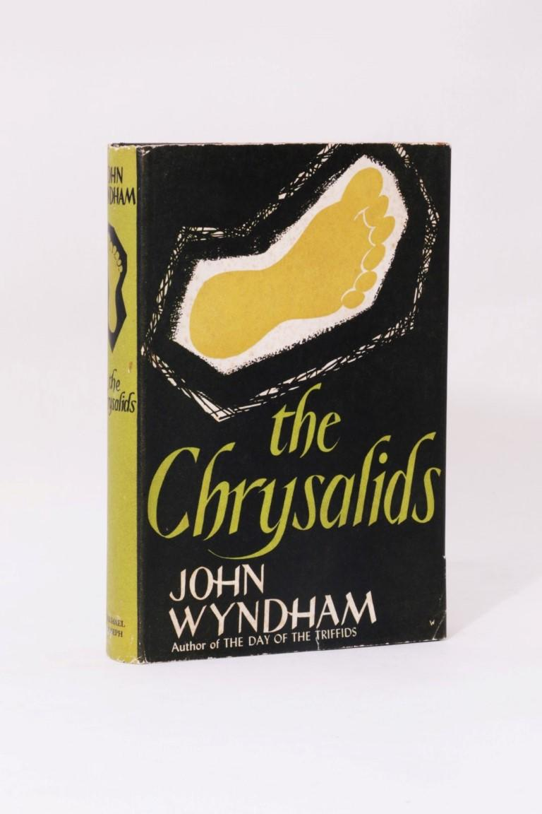 John Wyndham - The Chrysalids - Michael Joseph, 1955, First Edition.  Signed