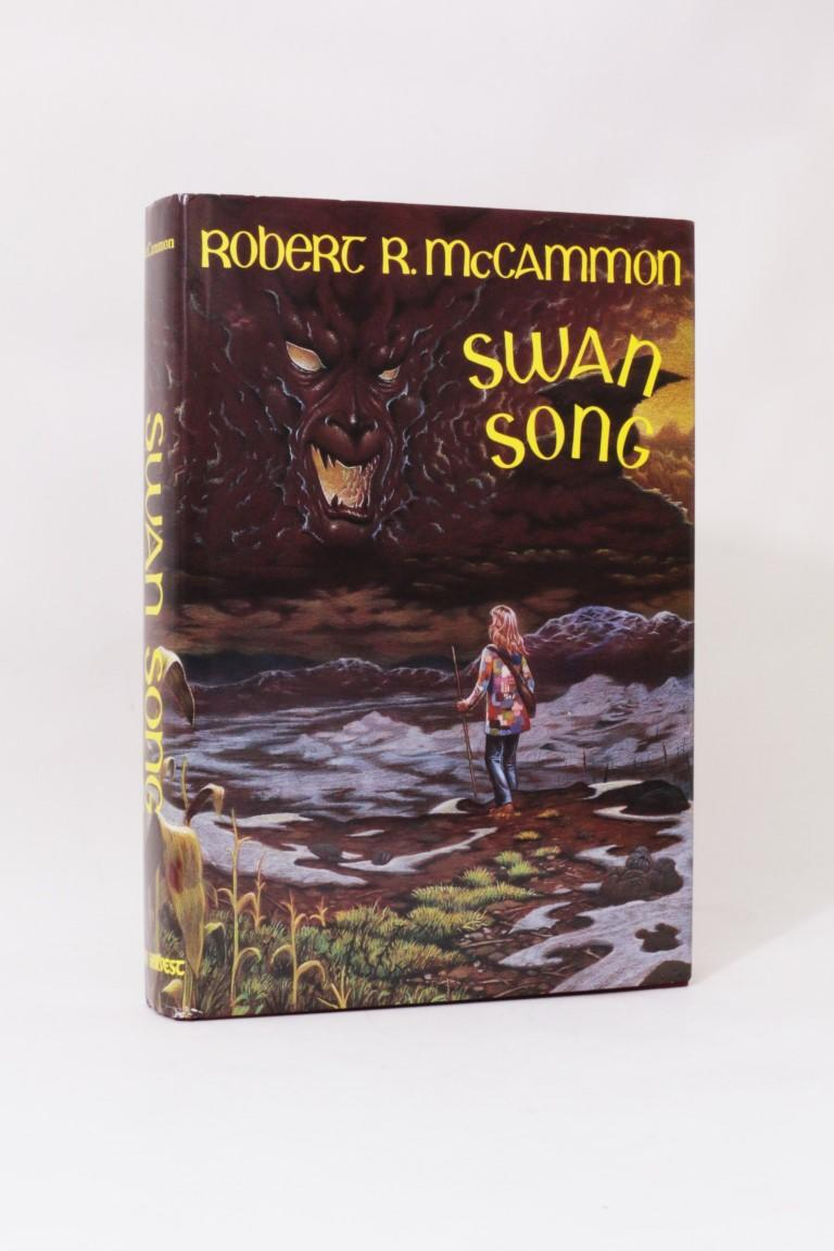 Robert McCammon - Swan Song - Dark Harvest, 1989, First Edition.  Signed
