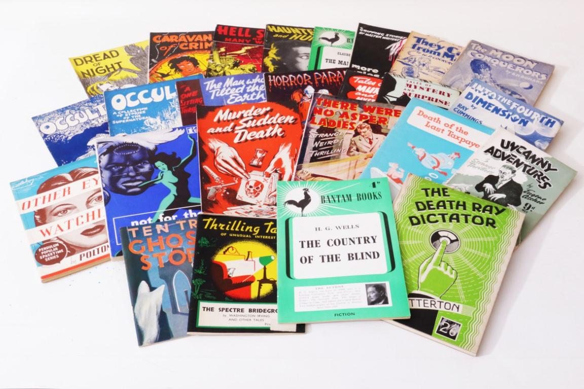 Various - A Collection of 25 Rare 1940s Paperbacks - Various, 1943-1948, First Edition.