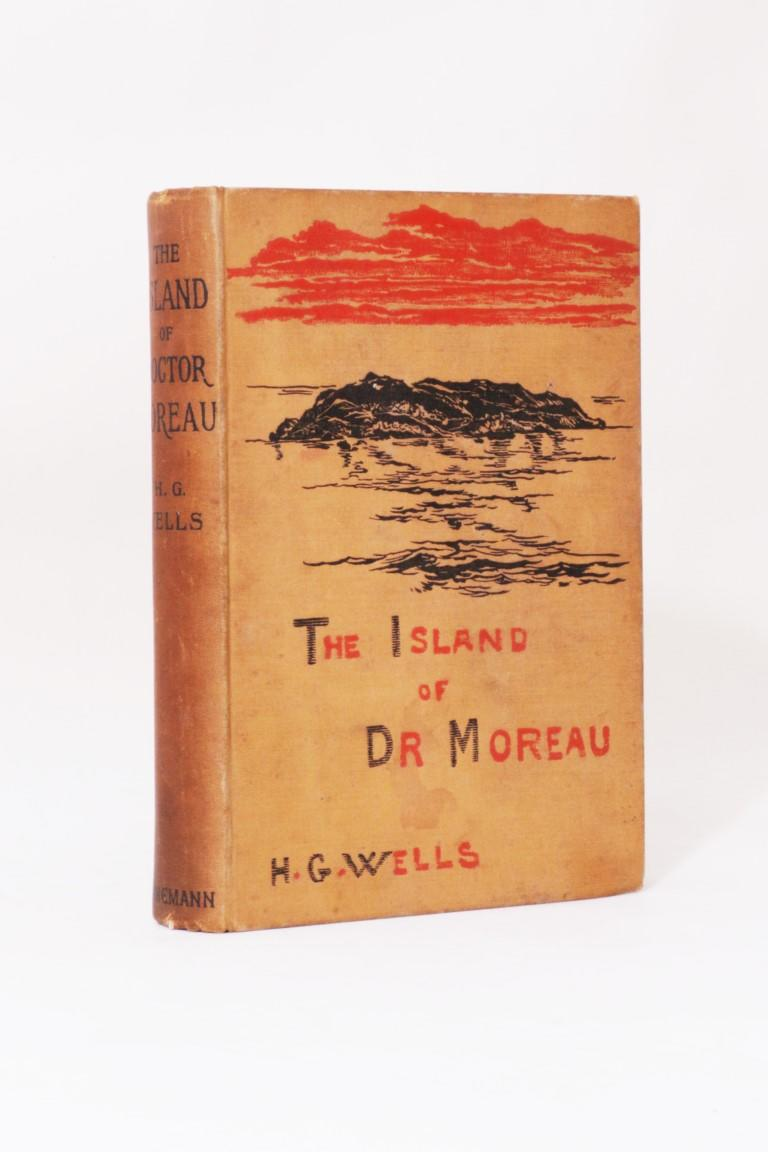 H.G. Wells - The Island of Dr Moreau - Heinemann, 1896, First Edition.