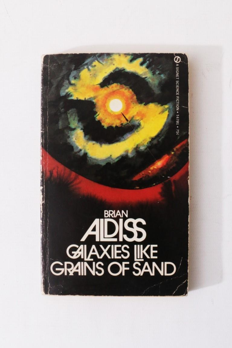 Brian W. Aldiss - The Canopy of Time / Galaxies Like Grains of Sand. Original Typescripts. - None, n.d. [c1959], Manuscript.