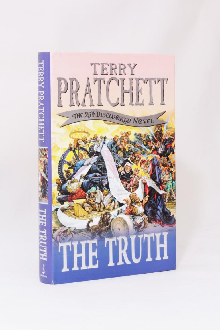 Terry Pratchett - The Truth - Doubleday, 2000, First Edition.