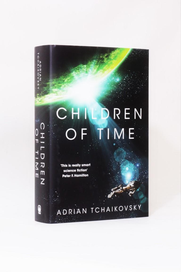 Adrian Tchaikovsky - Children of Time - Tor, 2015, Signed First Edition.