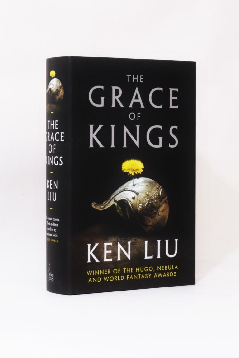 Ken Liu - The Grace of Kings - Head of Zeus, 2015, Signed First Edition.