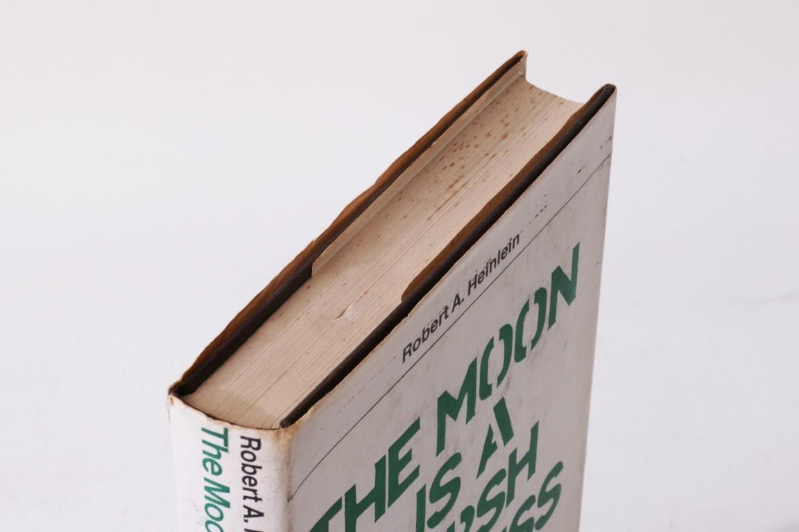 Robert A. Heinlein - The Moon is a Harsh Mistress - Dobson, 1967, First Edition.