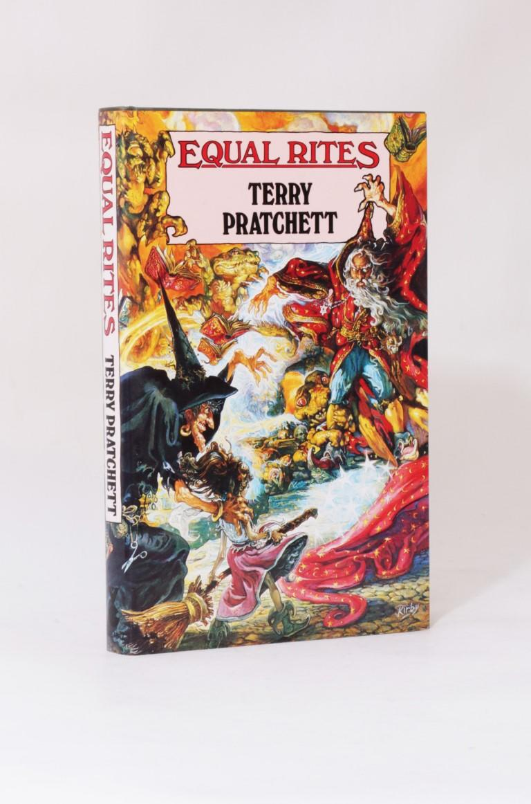 Terry Pratchett - Equal Rites - Gollancz, 1987, First Edition.