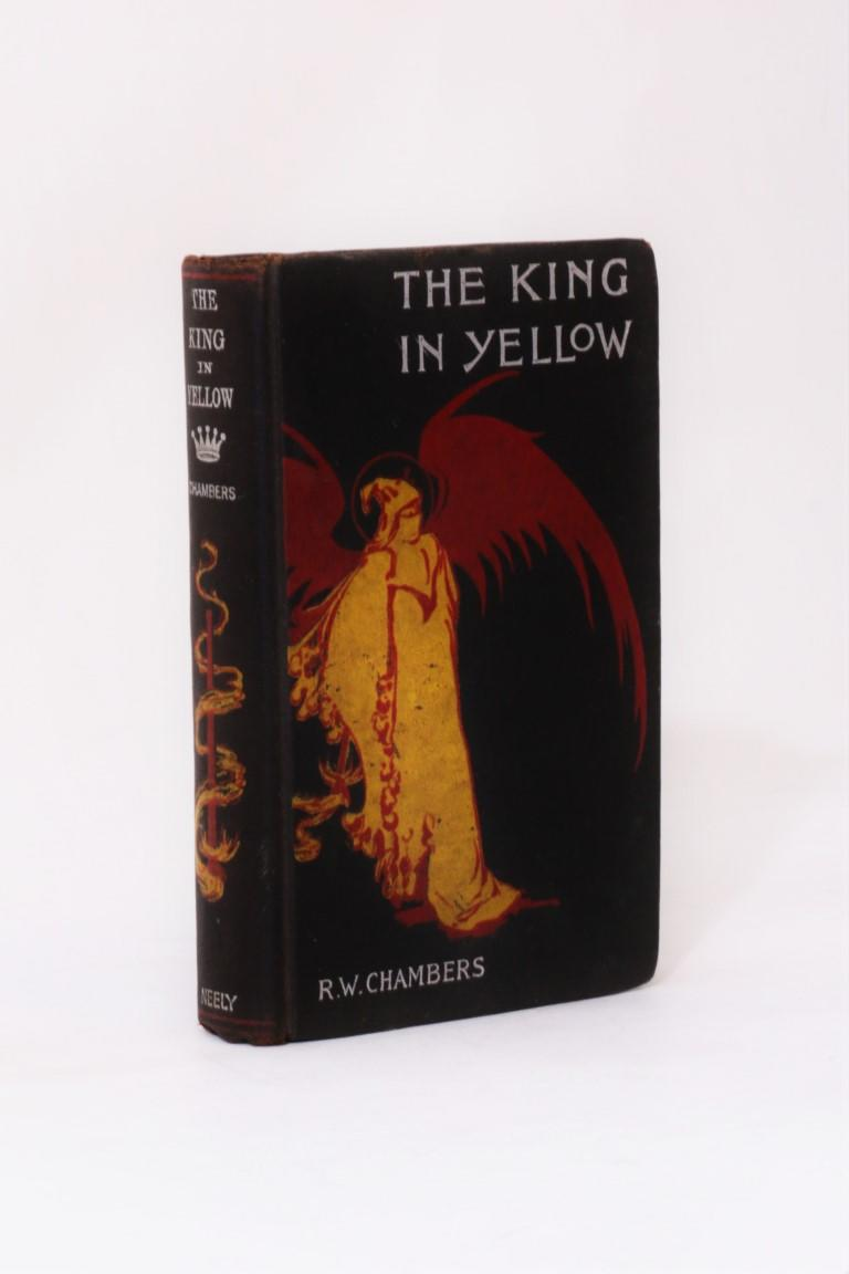 Robert W. Chambers - The King in Yellow - F. Tennyson Neely, 1895, First Edition.