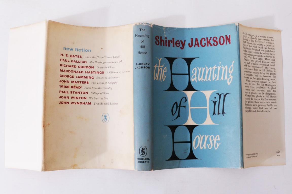 Shirley Jackson - The Haunting of Hill House - Michael Joseph, 1960, First Edition.