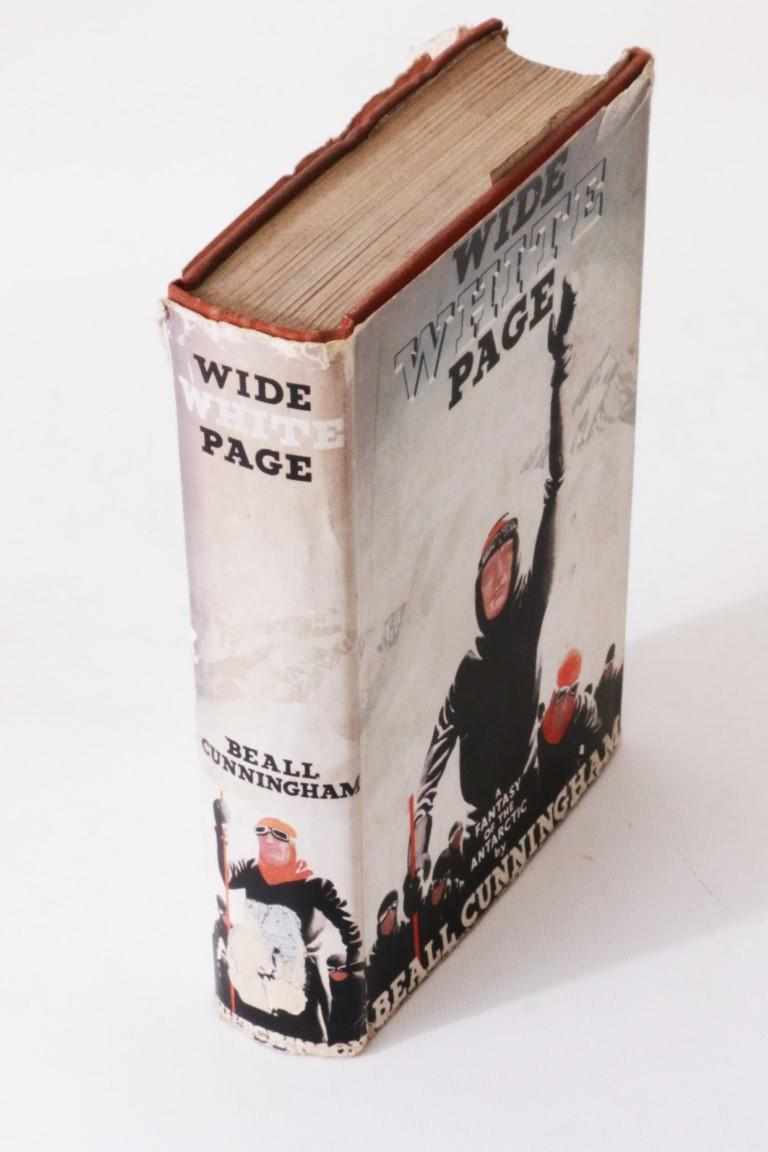 Beall Cunningham - Wide White Page - Hutchinson, n.d. [1936], First Edition.