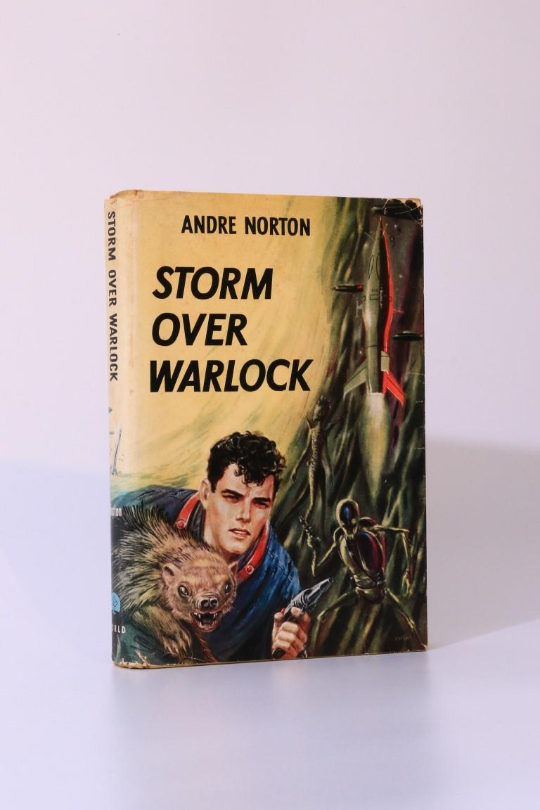 Andre Norton - Storm over Warlock - World Publishing Company, 1960, Signed First Edition.