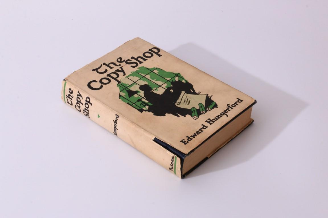 Edward Hungerford - The Copy Shop - Putnam, 1925, First Edition.
