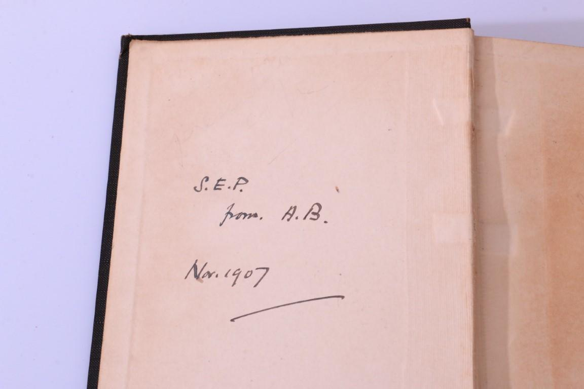 Algernon Blackwood - The Listener - Eveleigh Nash, 1907, Signed First Edition.