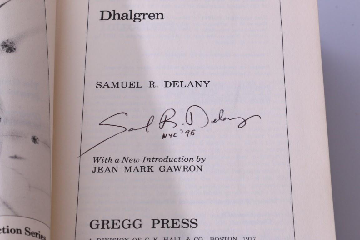 Samuel R. Delany - Dhalgren - Gregg Press, 1977, First Edition.