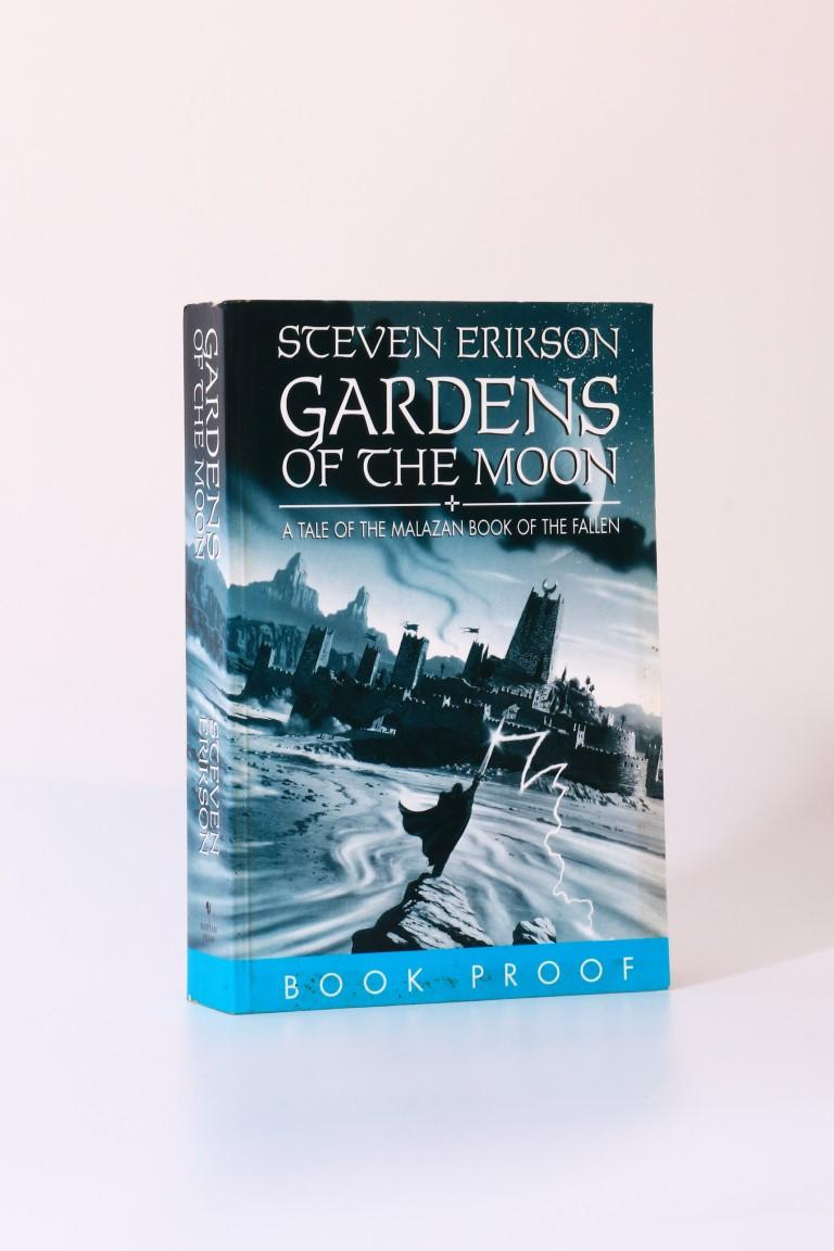 Steven Erikson - Gardens of the Moon - Bantam, 1999, Proof.