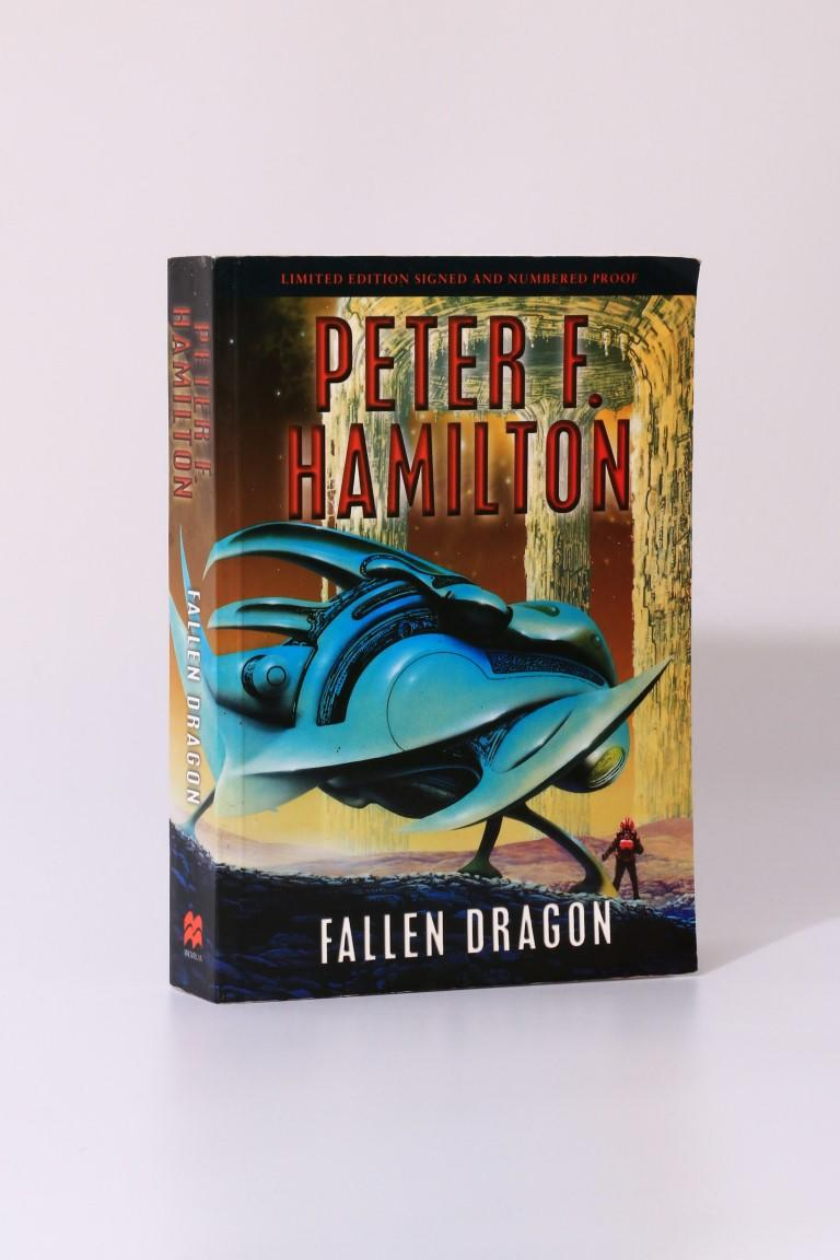 Peter F. Hamilton - Fallen Dragon - Macmillan, 2001, Proof.