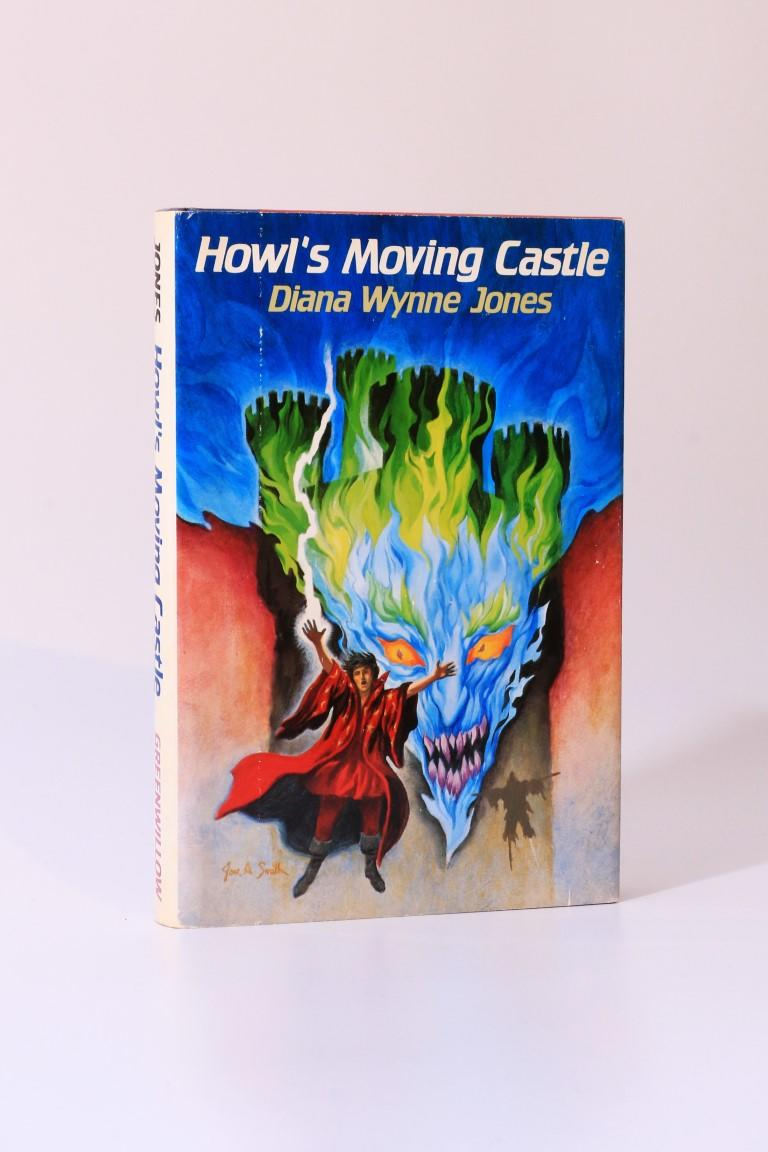 Diana Wynne Jones - Howl's Moving Castle - Greenwillow, 1986, First Edition.