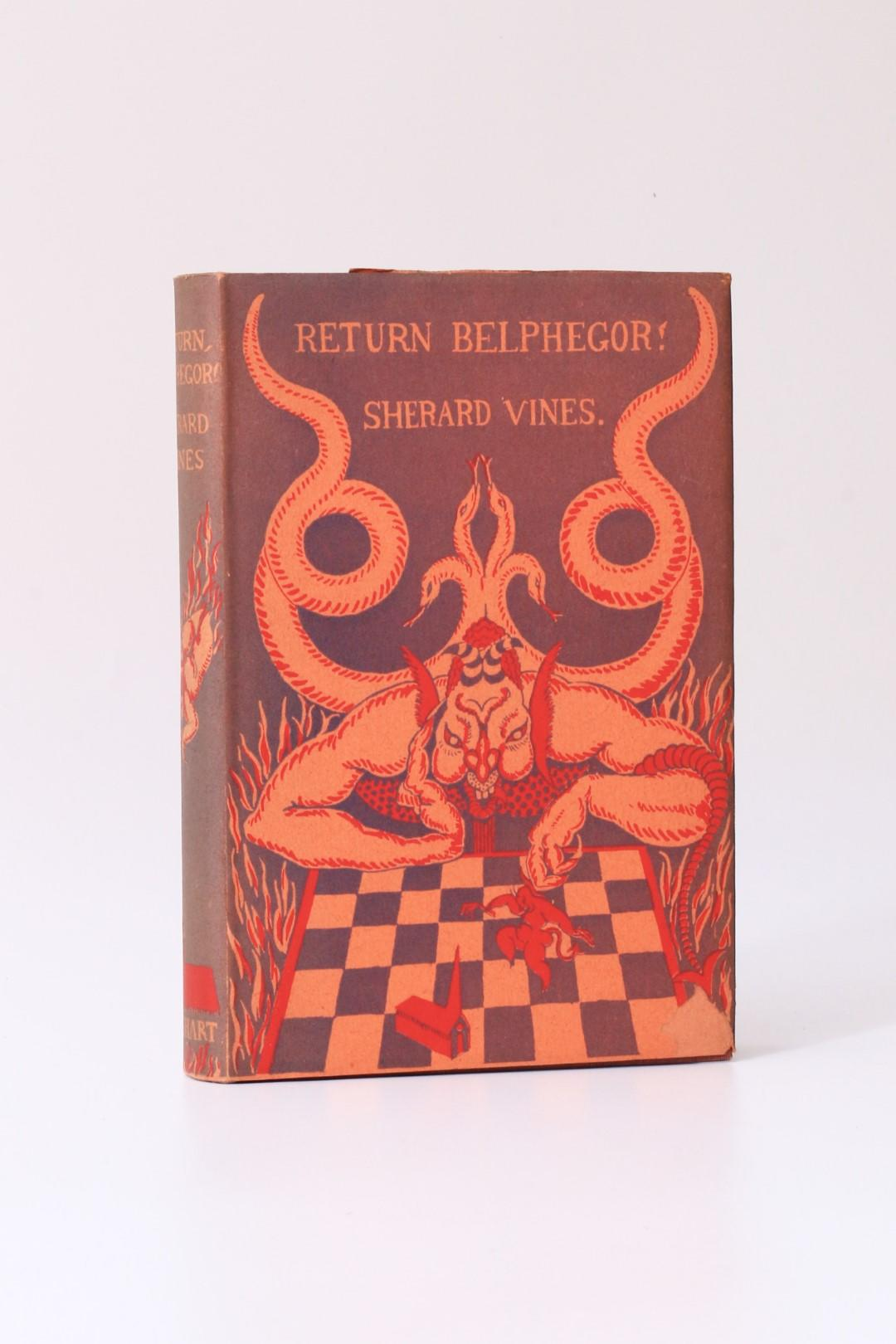 Sherard Vines - Return Belphegor! - Wishart, 1932, First Edition.