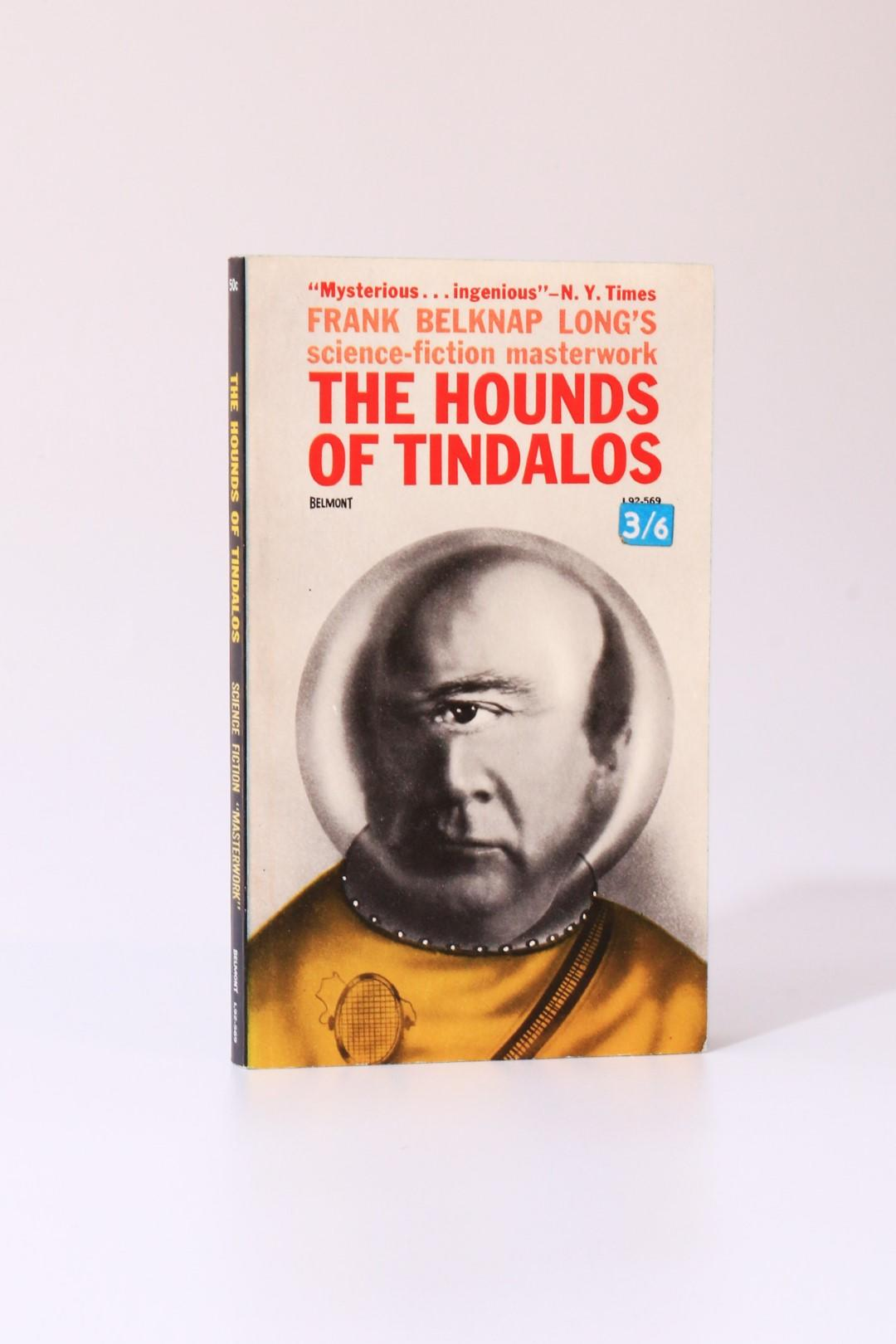 Frank Belknap Long - The Hounds of Tindalos - Belmont, 1963, First Edition.