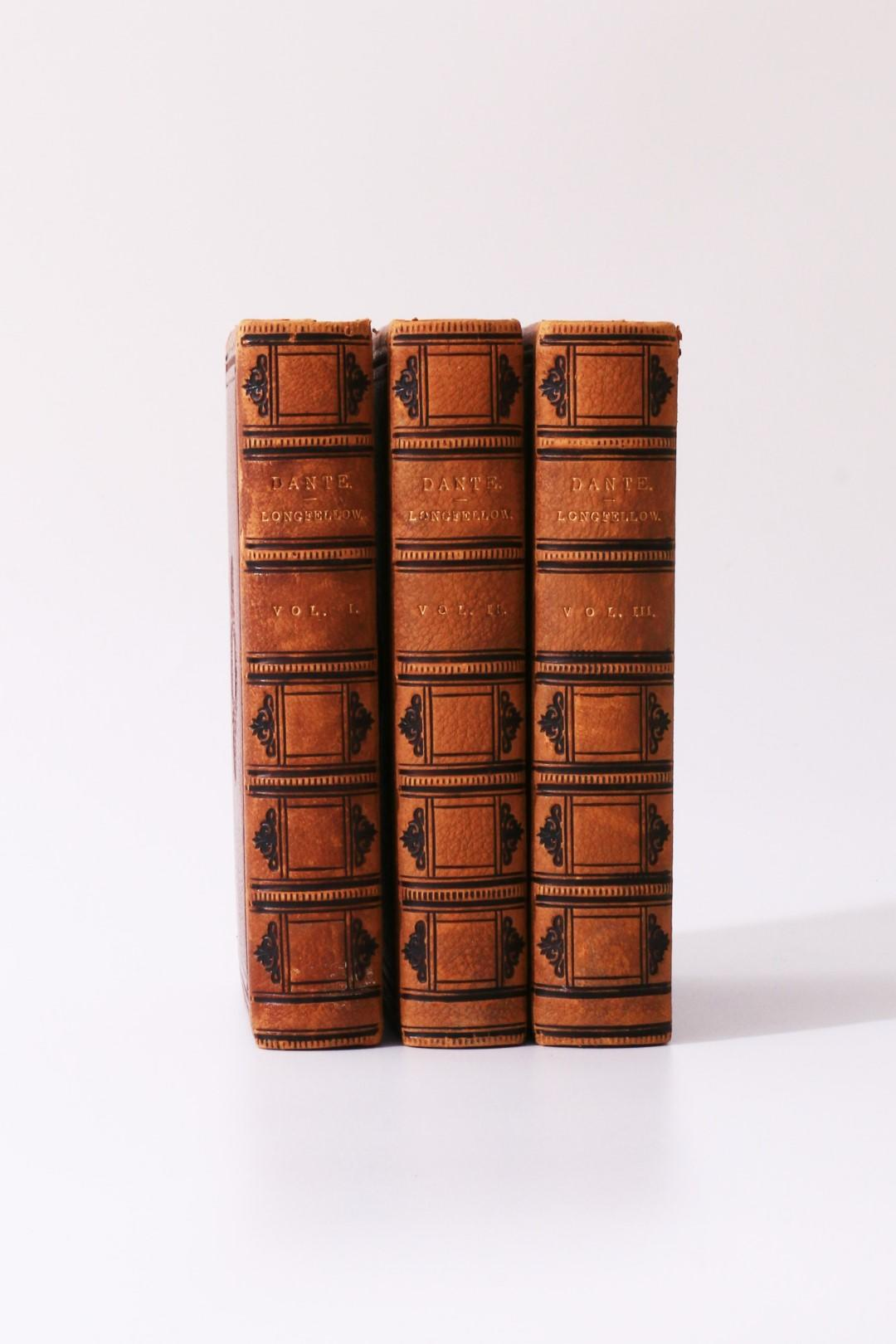 Dante Alighieri [trans. Henry Wadsworth Longfellow] - The Divine Comedy - Osgood and Co., 1871, First Edition.