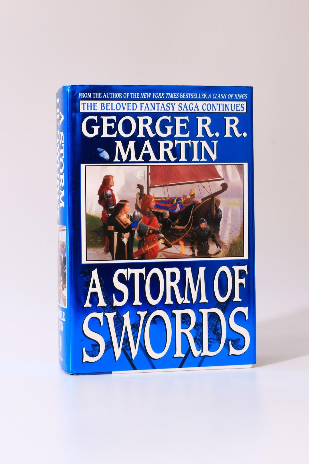 George R.R. Martin - A Storm of Swords - Bantam / Spectre, 2000, First Edition.