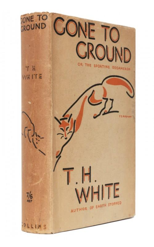 T. H. White - Gone To Ground, or the Sporting Decameron - Collins, UK, 1935 - First Edition