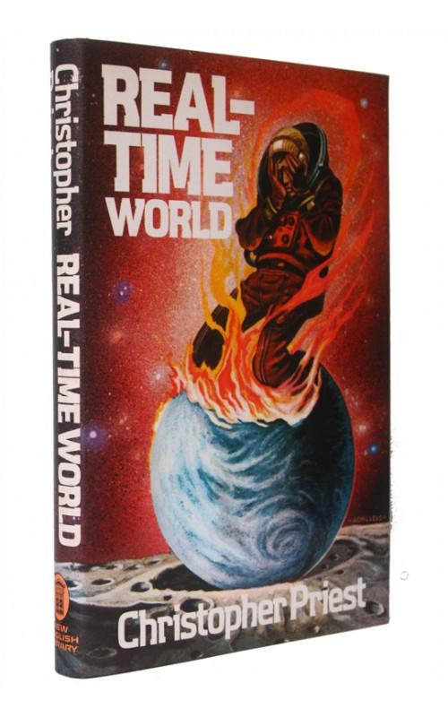 Christopher Priest - Real-Time World - New English Library, UK, 1974 - Signed First Edition
