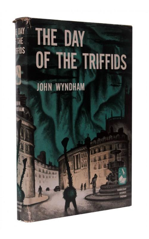 John Wyndham - The Day of the Triffids - Doubleday, 1951, US First Edition