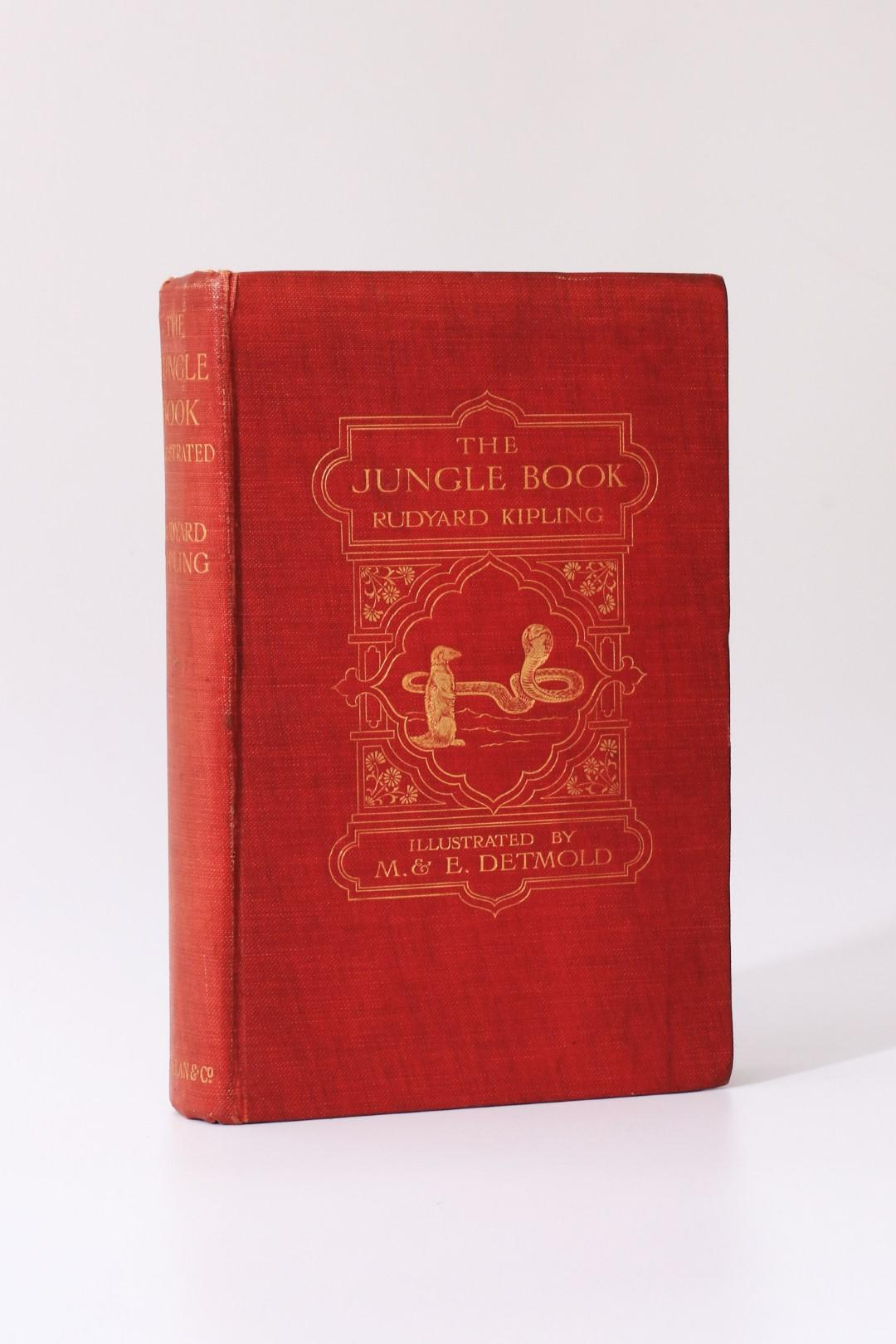 Rudyard Kipling - The Jungle Book - Macmillan & Co., 1908, First Edition.