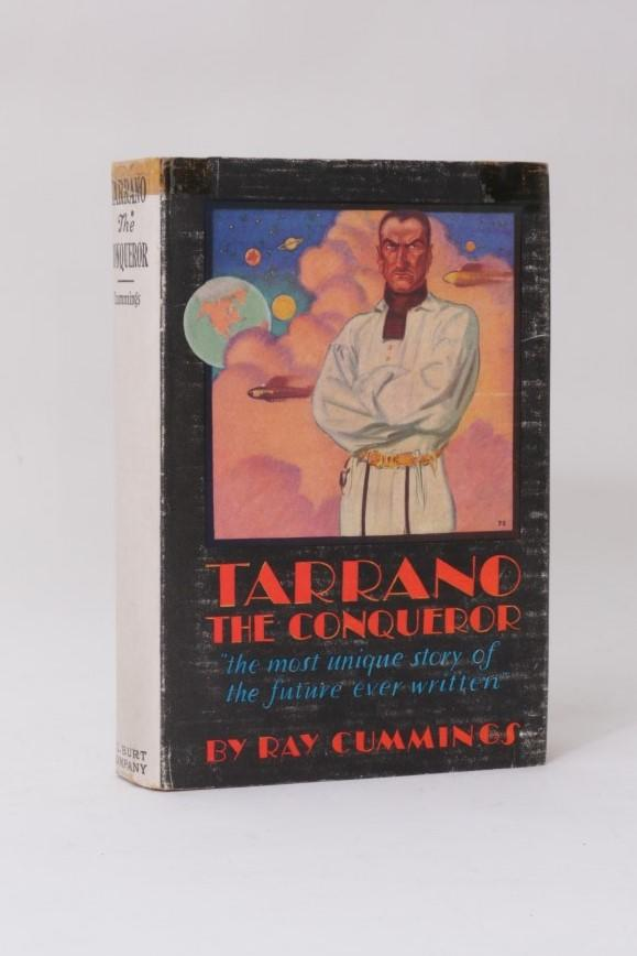 Ray Cummings - Tarrano the Conqueror - A.L.Burt & Co. / A.C.Clurg & Co., 1930, First Edition.