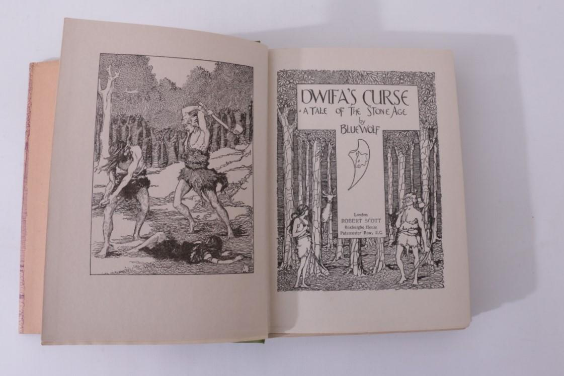 Blue Wolf [Joyce Reason] - Dwifa's Curse - Robert Scott, n.d. [1921 BL], First Edition.
