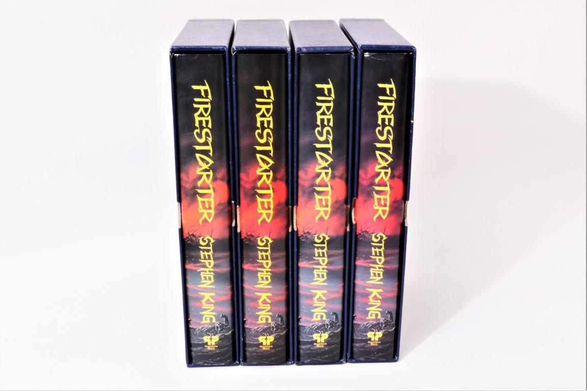 Stephen King - Firestarter [All four dates] - Phantasia Press, 1980, Signed Limited Edition.