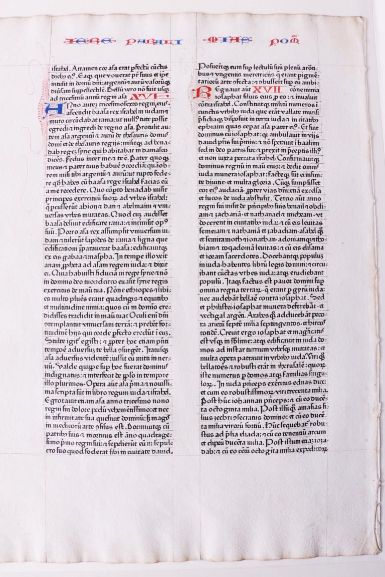 Eberhard Koenig - The 1462 Fust & Schoeffer Bible - Hamill & Barker, 1993, Limited Edition.