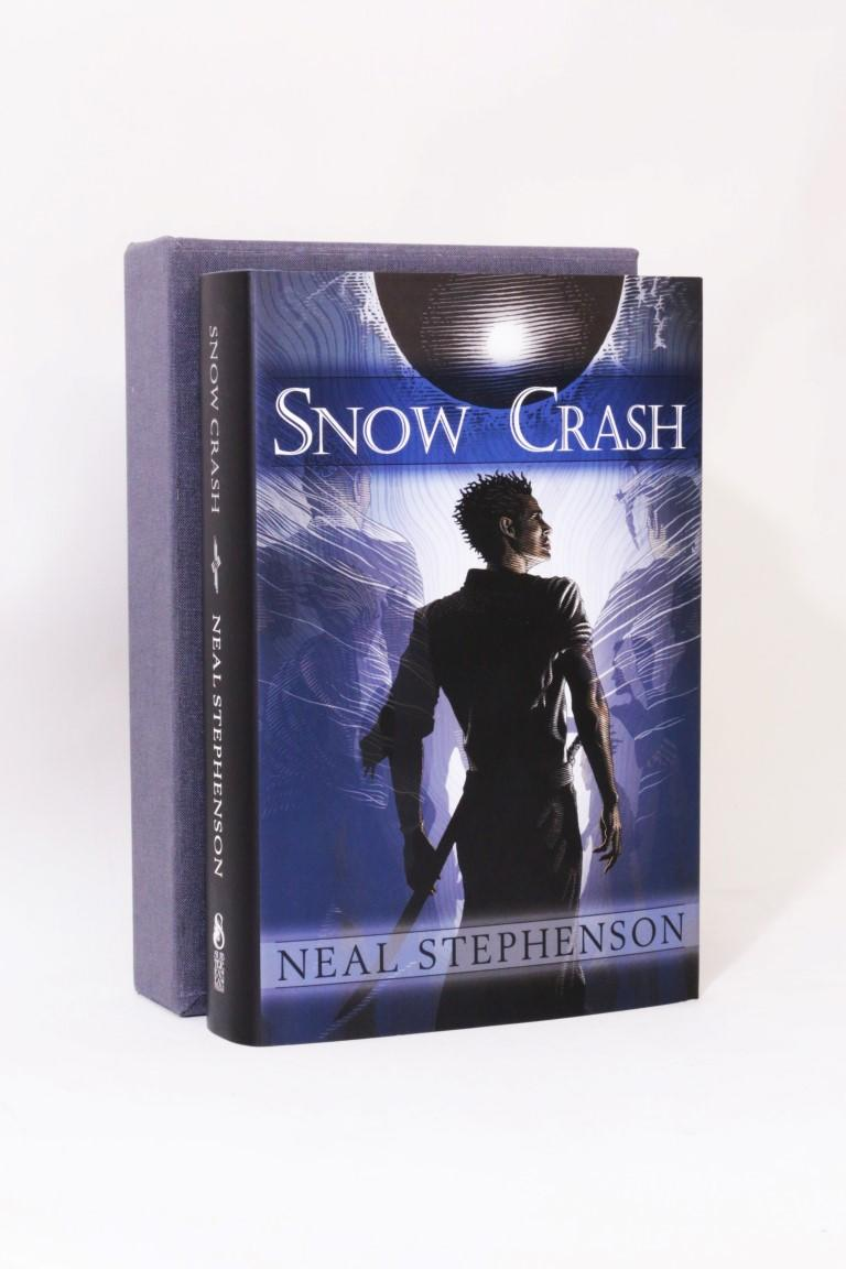 Neal Stephenson - Snow Crash - Subterranean Press, 2008, Limited Edition.  Signed