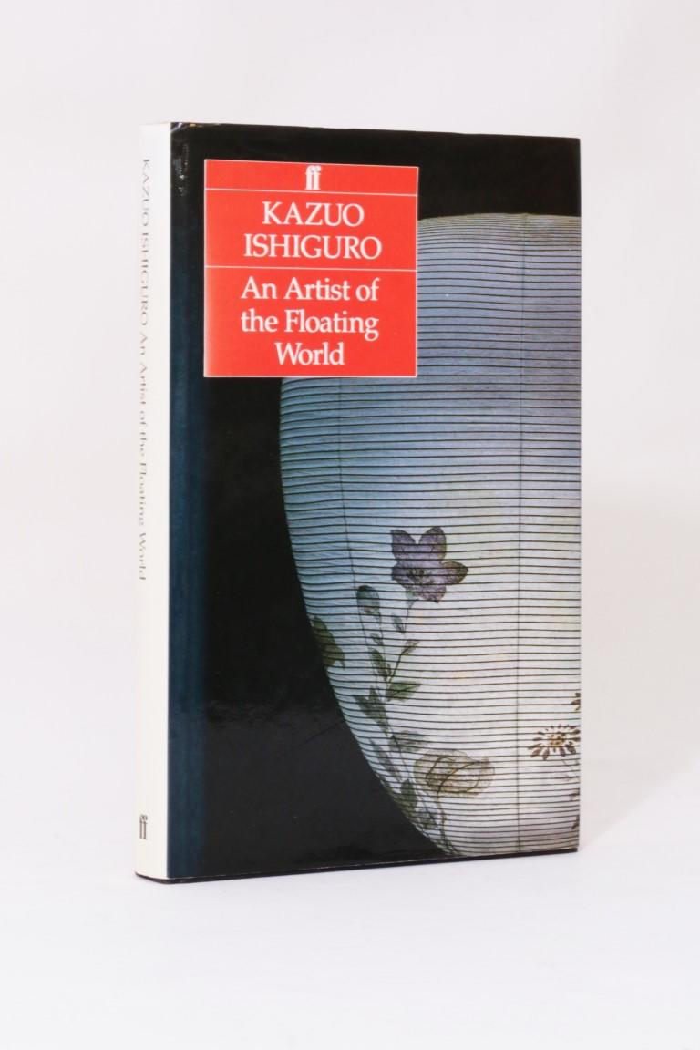 Kazuo Ishiguro - An Artist of the Floating World - Faber, 1986, Signed First Edition.