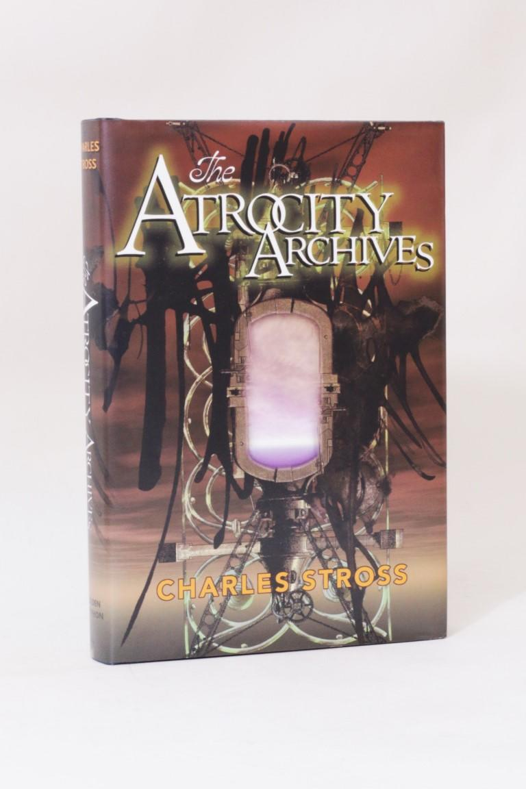 Charles Stross - The Atrocity Archives - Golden Gryphon, 2004, First Edition.