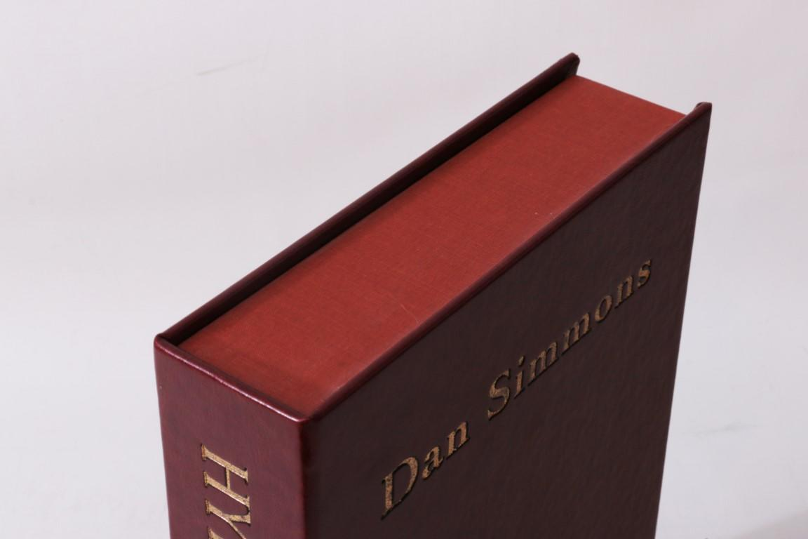 Dan Simmons - Hyperion - Subterranean Press, 2012, Signed Limited Edition.