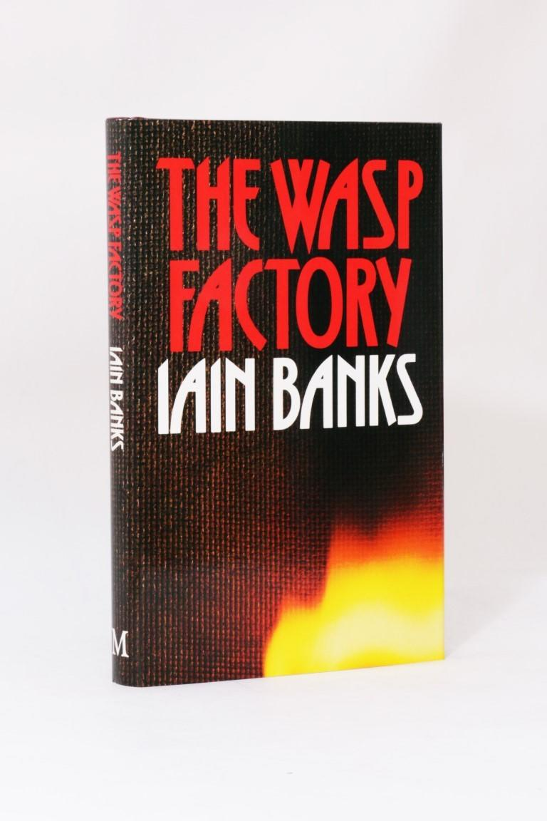Iain Banks - The Wasp Factory - Macmillan, 1984, First Edition.