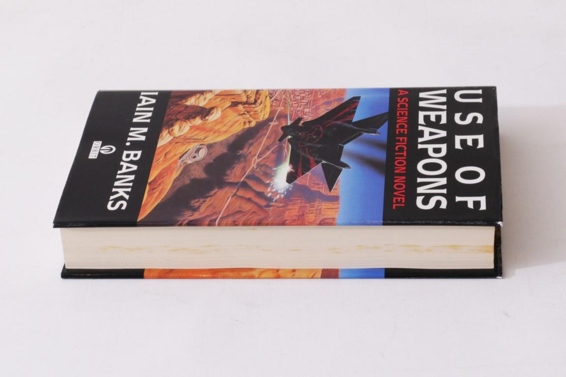 Iain M. Banks - Use of Weapons - Orbit, 1990, First Edition.