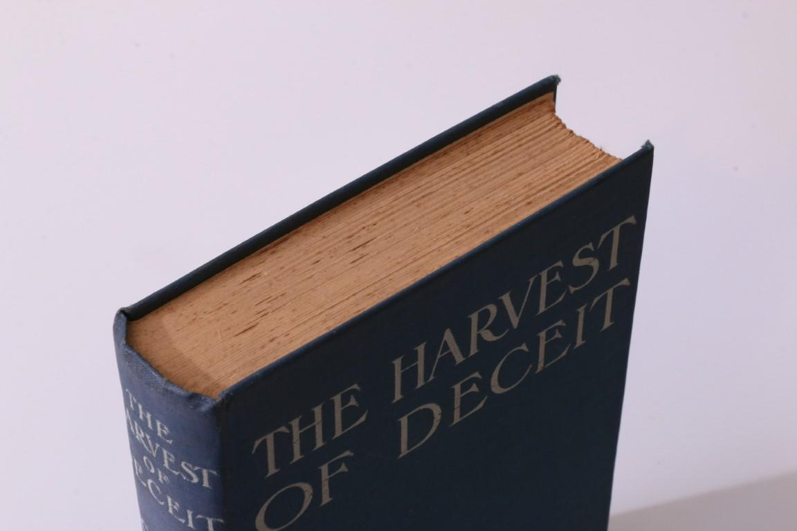 Clive Pemberton - The Harvest of Deceit - Greening, 1908, Signed First Edition.