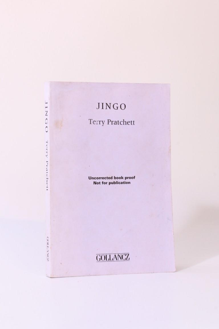 Terry Pratchett - Jingo - Gollancz, 1997, Proof. Signed