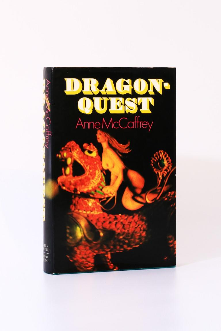 Anne McCaffrey - Dragonquest - Rapp & Whiting, 1973, First Edition.