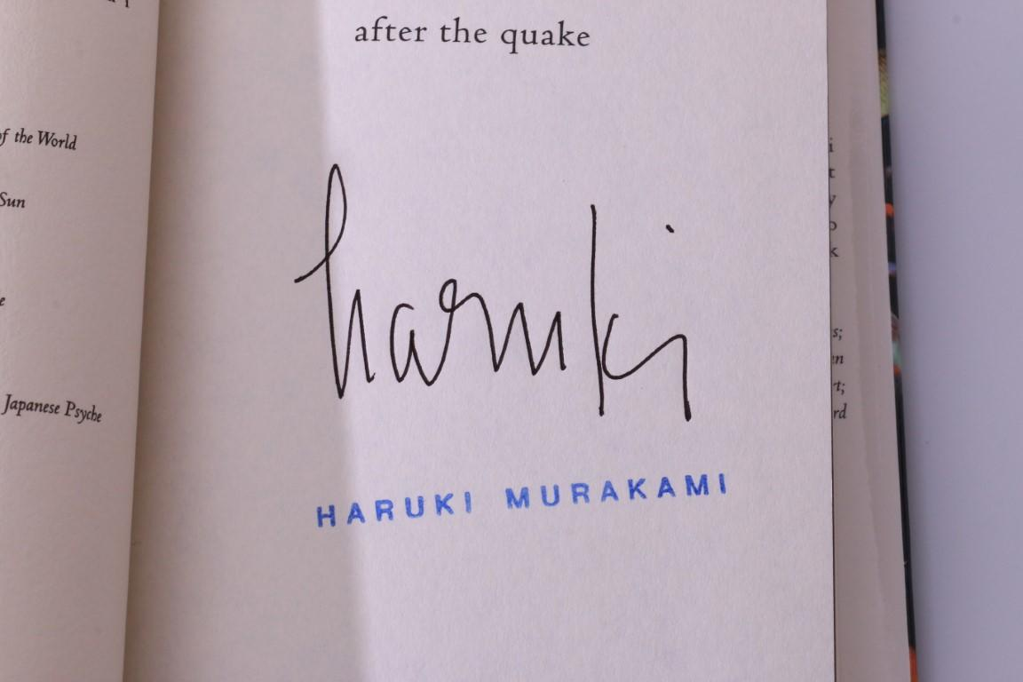 Haruki Murakami - After the Quake - Knopf, 2002, First Edition.