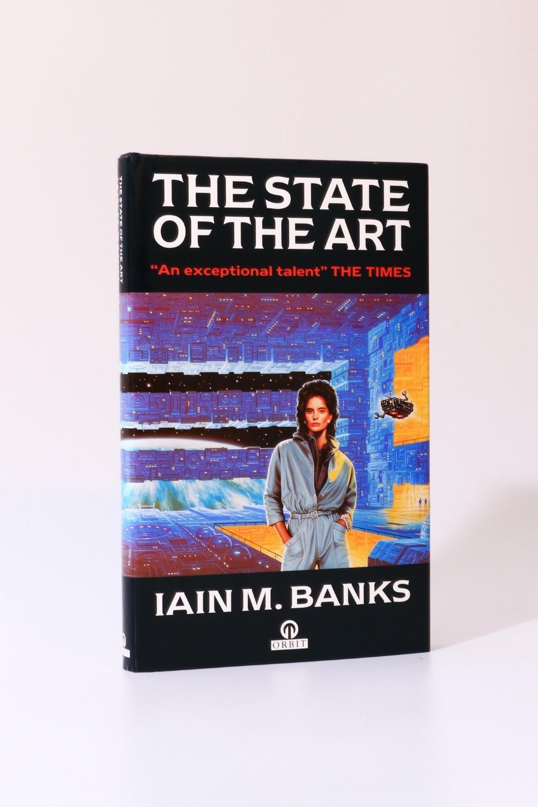 Iain M. Banks - The State of the Art - Orbit, 1991, First Edition.